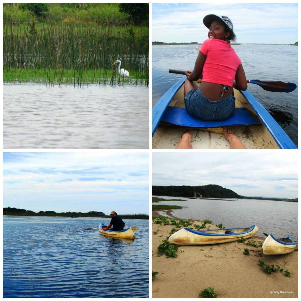 canoeing collage Collage