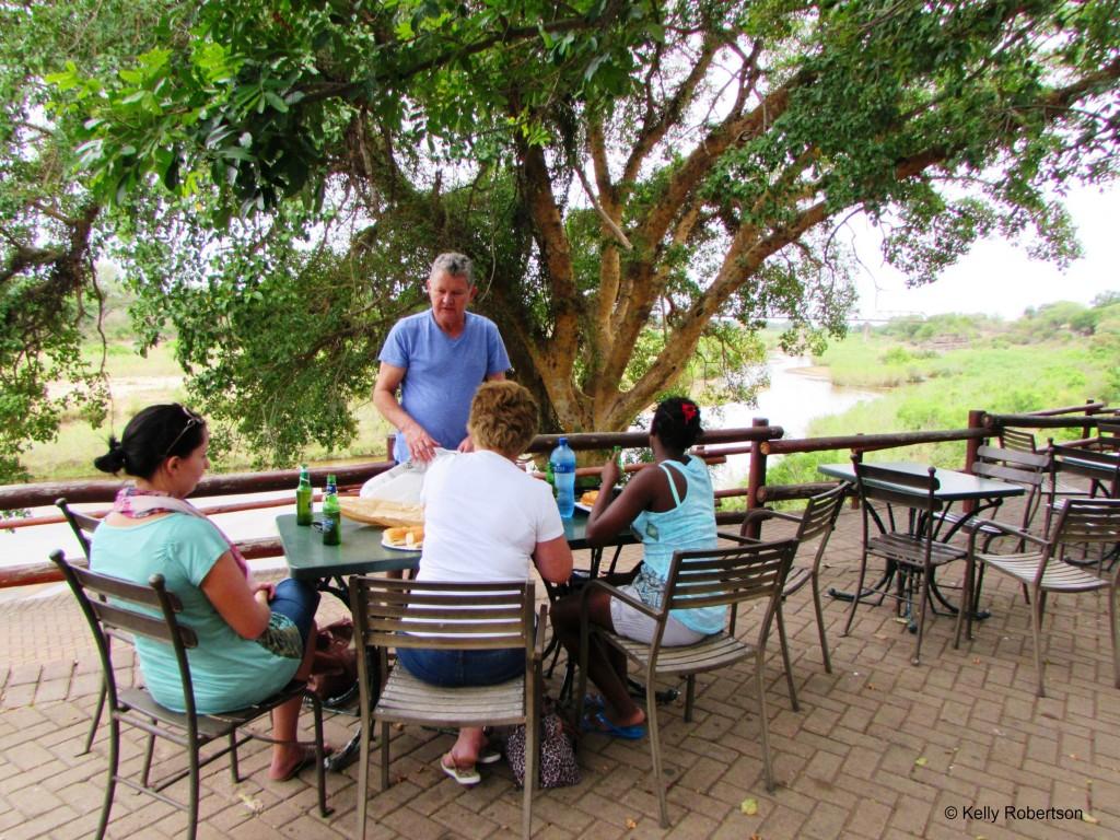 Skukuza picnic lunch Kruger