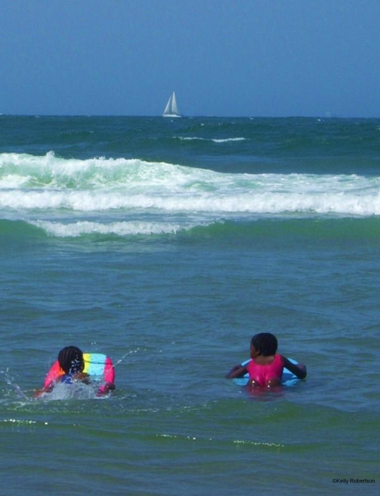 Durban swim in the sea