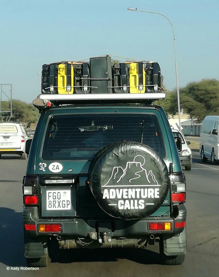 Adventure Calls Pajero