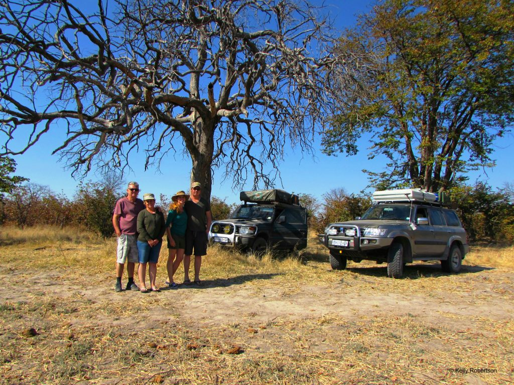Pajero and Patrol self drive Botswana trip