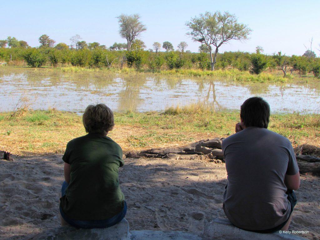 Okavango Delta camping at Dizhana