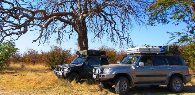 Botswana 4x4 self drive holiday, Mitsubishi Pajero, Nissan Patrol