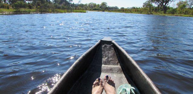 Khwai mokoro ride, Okavango Delta