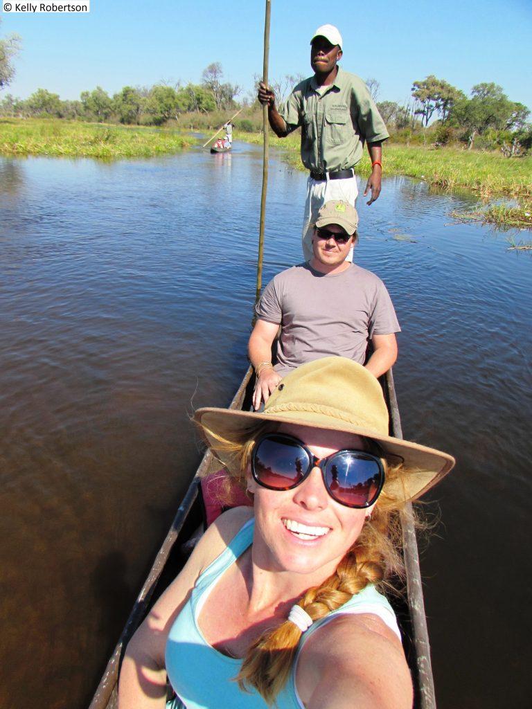 Mokoro ride, Khwai, Okavango Delta